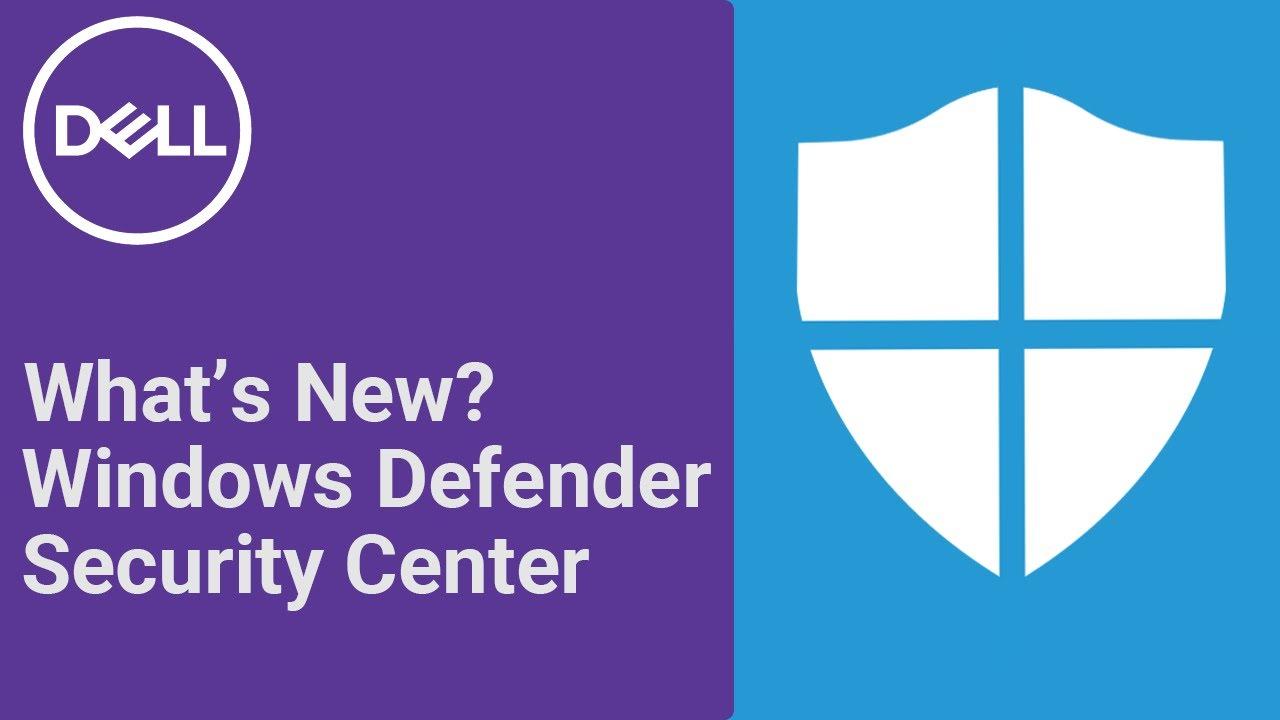 Windows Defender Windows 10 Creators Update (Official Dell Tech Support)