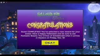 ROBLOX 🦇 Escape Room 🐀 Hallows Eve 👻 Niffler & Twilight Manor Escape🎃🎃