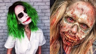 Top Halloween Makeup Tutorials in 2019 | Scary Costume Ideas