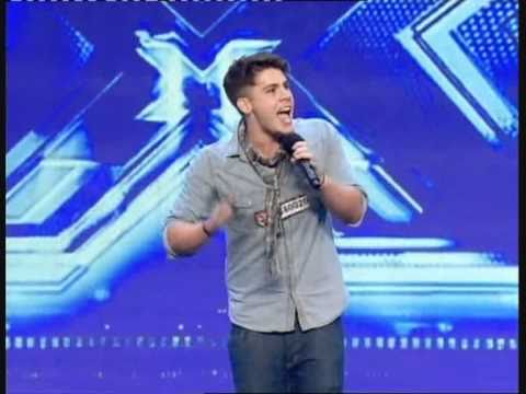 AIDEN GRIMSHAW STARS ON X FACTOR - GOLD DIGGER  BY KANYE WEST