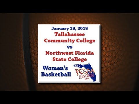 Panhandle Conference 2018 - TCC @ NWFSC - January 18, 2018 - Women's Basketball