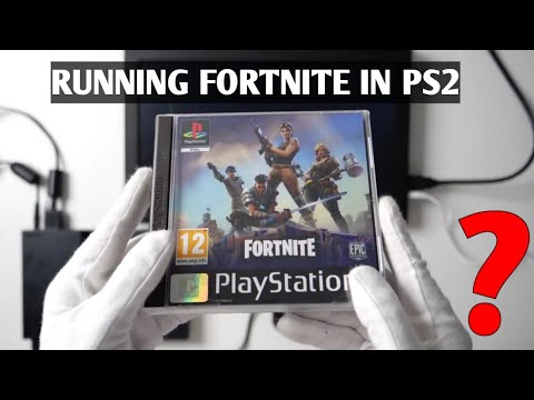 Running FORTNITE IN PS2 || PS2 UNBOXING IN 2019