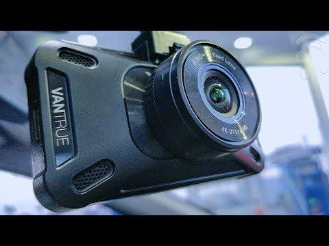 Vantrue X4 UHD 4K Dash Cam Review ✔️ Night Vision, Time Lapse , Motion Detection, 3840X2160P @30fps