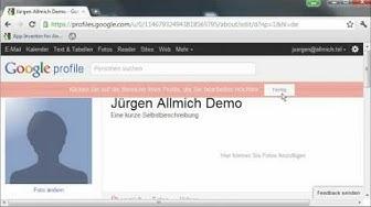 Google Plus - Google Konto registrieren und Google+ Anmeldun