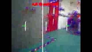 A R Drone autonomous indoor navigation using optical flow