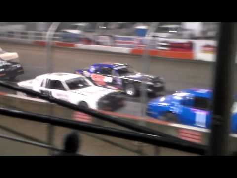 Hobby Stock Amain @ Beatrice Speedway Spring Nationals 03/11/16