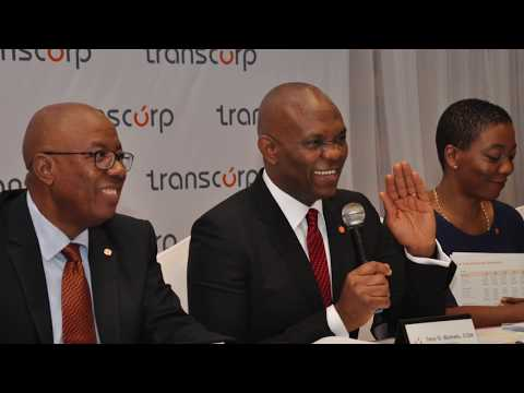 The Transcorp Plc. Story: Improving Lives, Transforming Nigeria.