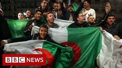 Algeria: From demonstrations to celebrations - BBC News