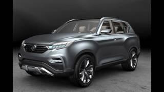Новый SsangYong Rexton (Y400) 2018 — первые новости