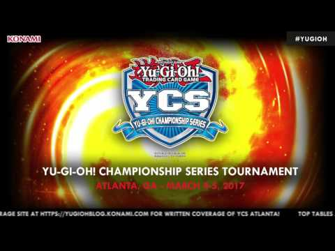 YCS Atlanta, March 5, 2017. Round 10. Official Yu-Gi-Oh! TRADING CARD GAME.