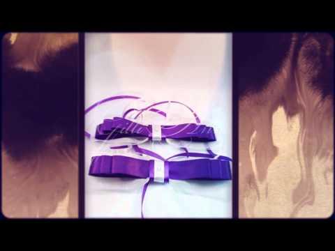 Свадебные украшения на ручки и зеркала машины Gilliann