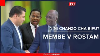 Nini chanzo cha bifu la Bernard Membe vs Rostam Aziz?