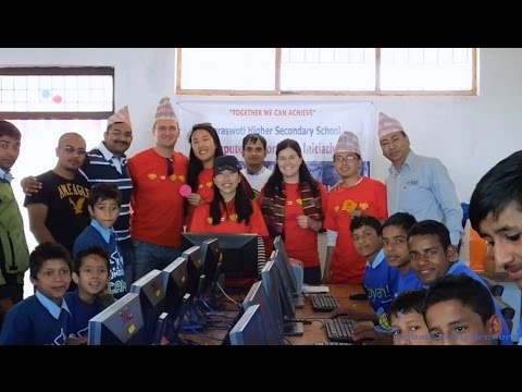 Microsoft Nepal computer lab