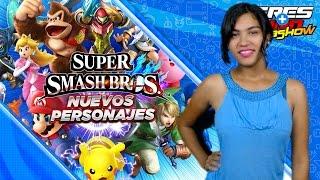 Nuevos personajes de Super Smash Bros para Switch