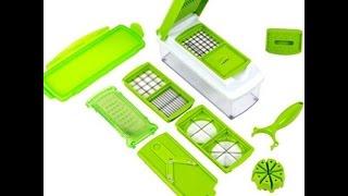 Nicer Dicer Plus Vegetable Fruit Multi Peeler cookie Cutter Chopper Slicer Kitchen Cooking Tools