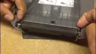 ZP 450 Printer Rubber Roller Replacement