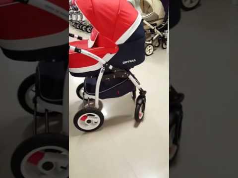 Бебешка количка Optima 3в1