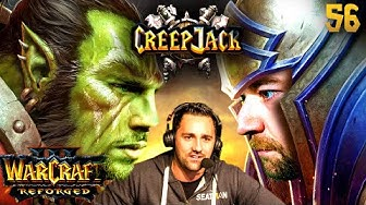 Florentin vs. WC3-Urgestein TaKe | Creepjack: Warcraft 3 Reforged #56 mit Florentin & Jannes