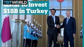 Qatar pledges $15B investment in Turkey