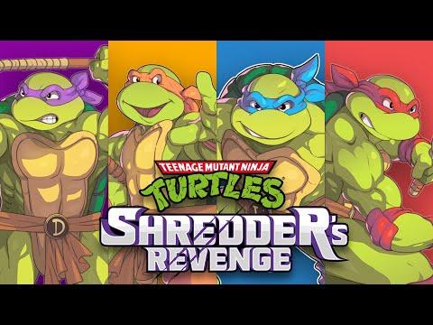 Геймплейный трейлер Teenage Mutant Ninja Turtles: Shredder's Revenge