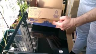 Складываем новую коробку от Почты России