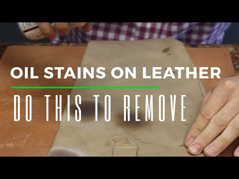 How To Remove Oil Stains From Leather Shoes, Bags, Purses, Etc.