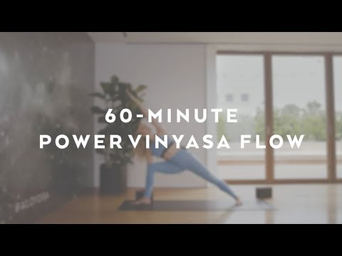 60-Minute Power Vinyasa Flow with Caley Alyssa