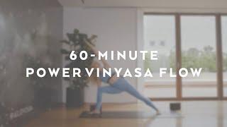 60-Minute Power Vinyasa Flow with Caley Alyssa