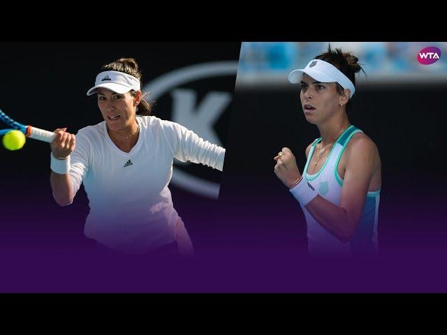 Preview: Muguruza vs. Tomljanovic | 2020 Australian Open