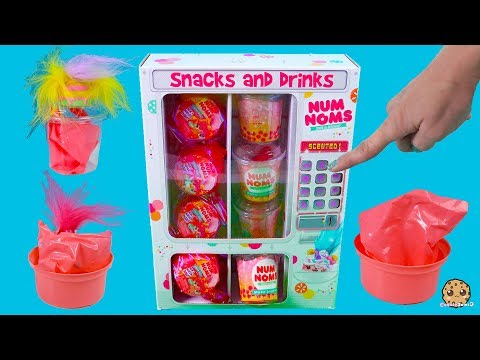 Makeup Vending Machine Surprise Blind Bags  - Num Noms Hair or Scented Lip Gloss