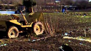 Dumper Truck Stuck in Mud!!