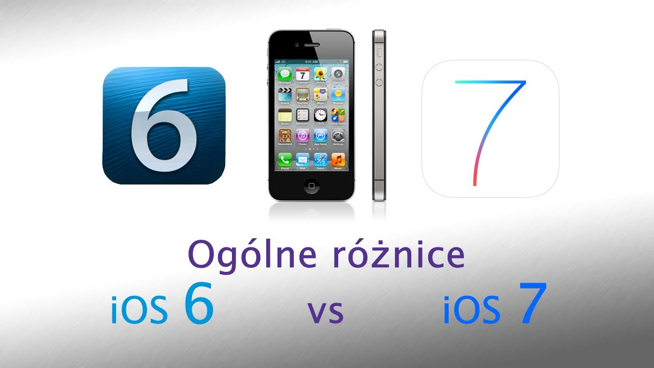 ios 7 vs ios 6 Ios 7 is the biggest change to apple's ios since the arrival of apps in 2008 it's brighter, bolder and guaranteed to annoy anyone who thought ios looked just fine, but there's much more to it.