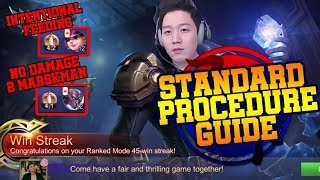 45 Win Streak Secret Guide : Team coordination for Come BackㅣMobile Legends