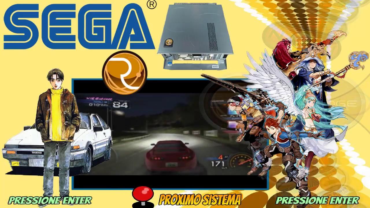 Sega RingEdge Hyperspin