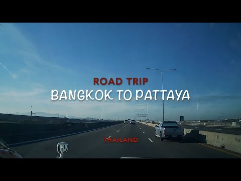 Road Trip from Bangkok to Pattaya, Dash Cam Movie
