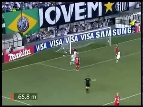 Neymar is amazing goals   07/03/12   Santos 3 vs 1 Internacional