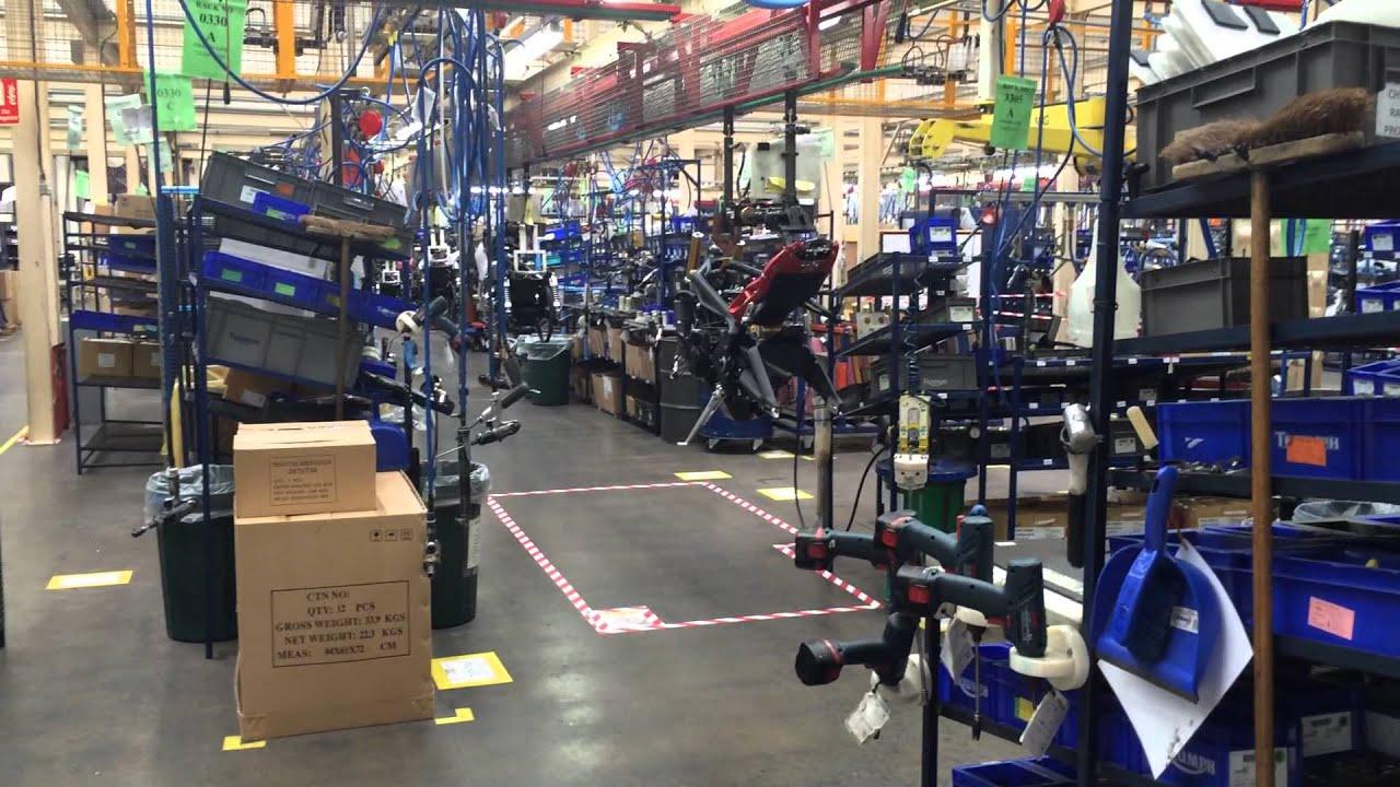 Triumph Motorcycle Factory Tour