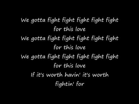 Fight For This Love - Cheryl Cole [Acoustic Instrumental]
