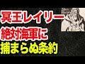 【ワンピース】海軍が冥王レイリーを捕まえない本当の真相(考察)