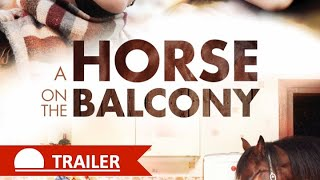 A HORSE ON THE BALCONY