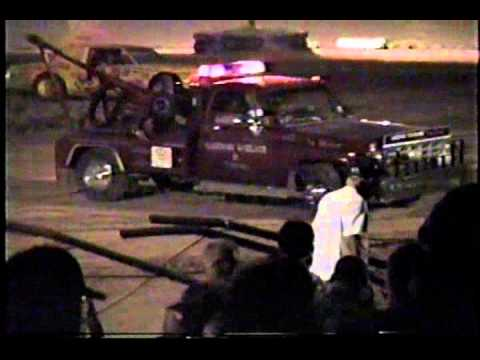1999 Limited Late Model crash at Dallas County Speedway.