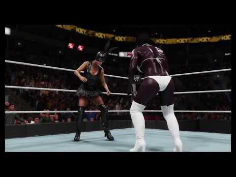 Ariana Grande vs.Bambi (WWE 2k19) - Bikini Fight - Girl Fighting 😍  