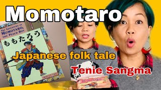 Momotaro: Japanese folk tale -  English Story Time!