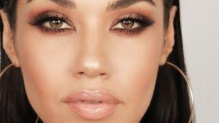 Matte Brown Smokey Eye Makeup Tutorial | Get Ready With Me | Eman