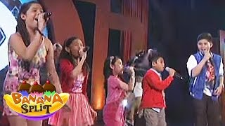 "Banana Split: The Voice Kids Season 2 Sing ""roar"""