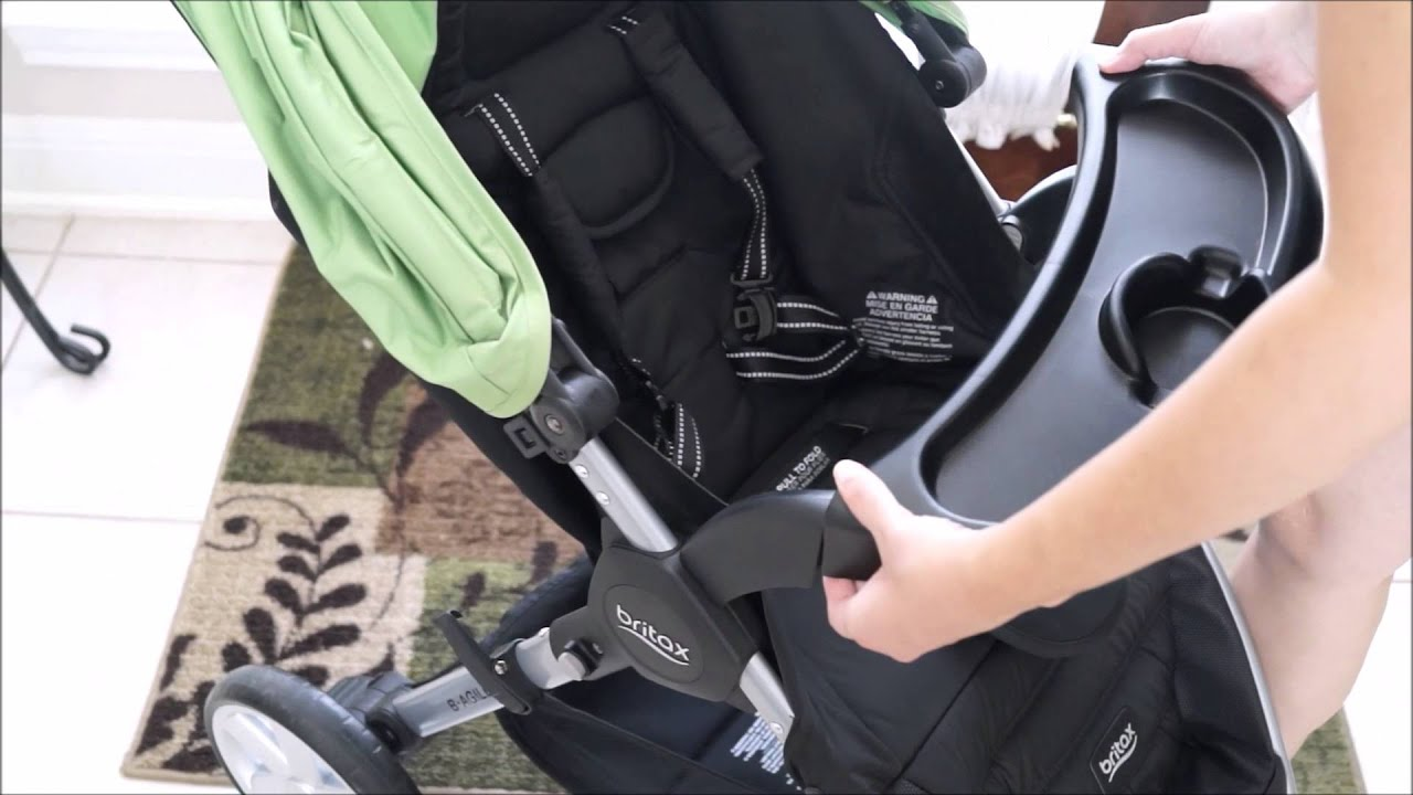 Britax B Agile Snack Tray Quick Review