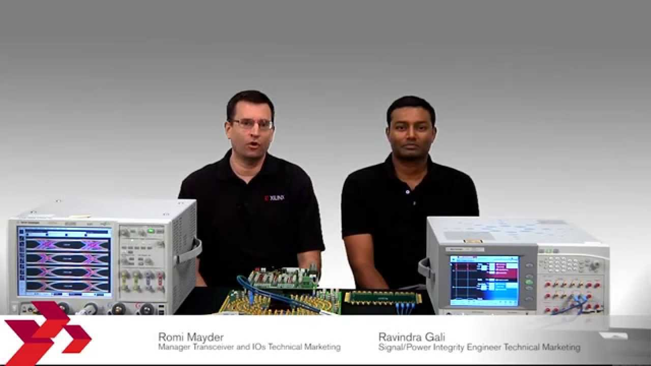 UltraScale SelectIO CTLE Demo & Simulations - YouTube