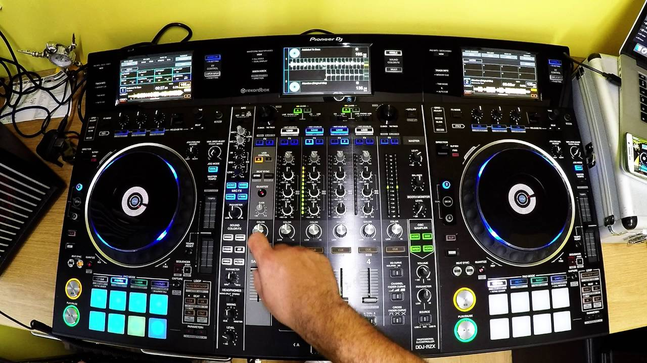 Pioneer Ddj Rzx Quick Review Youtube