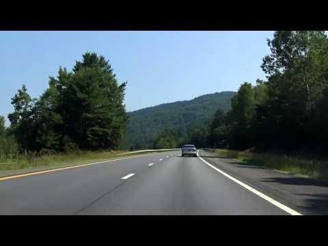 Adirondack Northway (Interstate 87 Exits 23 to 25) northbound