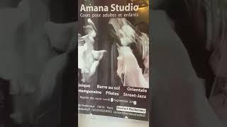 Visite de l'école de danse amana studio à Paris 14 prés de Denfert-Rochereau
